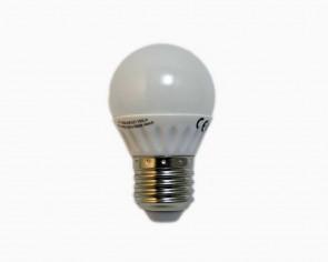 LED Lund E27 klotlampa, varmvit, 350 lumen, 4W