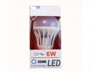 LED 6W E27 lampa