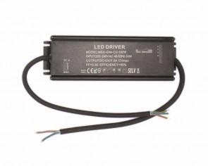 LED DC transformator vattentät IP65, 84W, 12V, 7A, dimbar