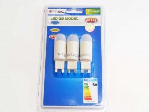 LED Flen G9, varmvit, 150 lumen, 2W, 3 pack