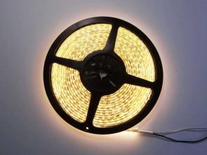 5m LED slinga, 9.6W/m, varmvit, IP65, 120xLED/m
