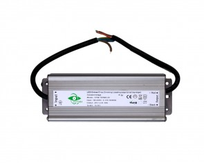 LED DC transformator, 24V, 60W, 2.5A, utomhus, dimbar