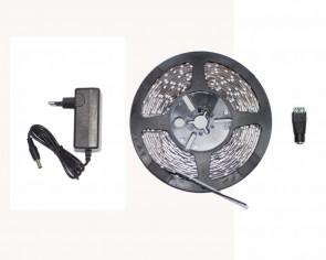 LED start paket, 5m slinga 4.8W/m, RGB, inomhus