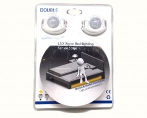 Sovalight (tm) - dubbelsäng LED paket med rörelsedetektor