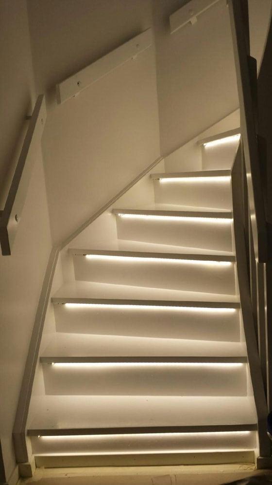 LED trapp belysning